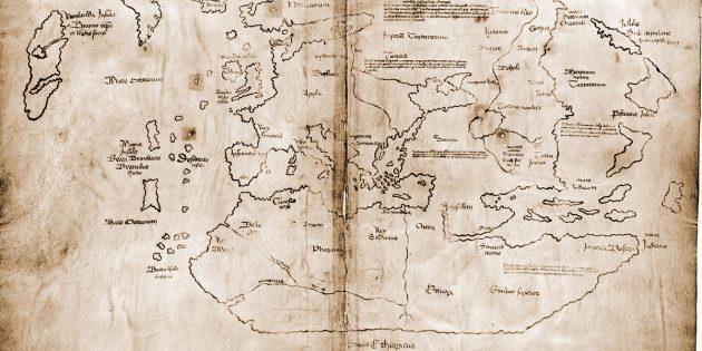Die sog. Vinland-Karte Copyright: Yale University