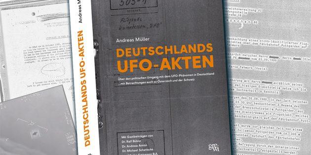 Titelumschlag: Deutschlands UFO-Akten Copyright: A. Müller