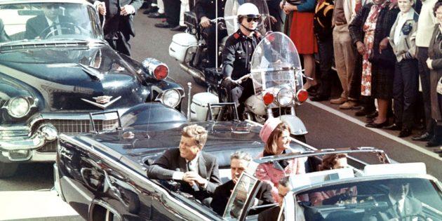 Archivaufnahme: US-Präsident John F. Kennedy kurz vor dem Attentat in Dallas am 22. November 1963. Copyright: Gemeinfrei